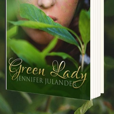 Debut of Green Lady by visiting author Jennifer Julander
